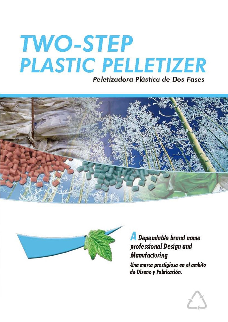 Two-Step Plastic Pelletizer