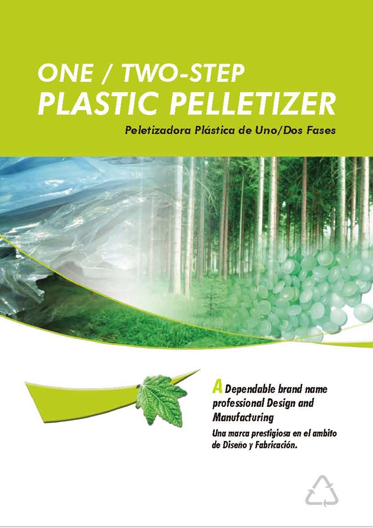 One/Two-Step Plastic Pelletizer
